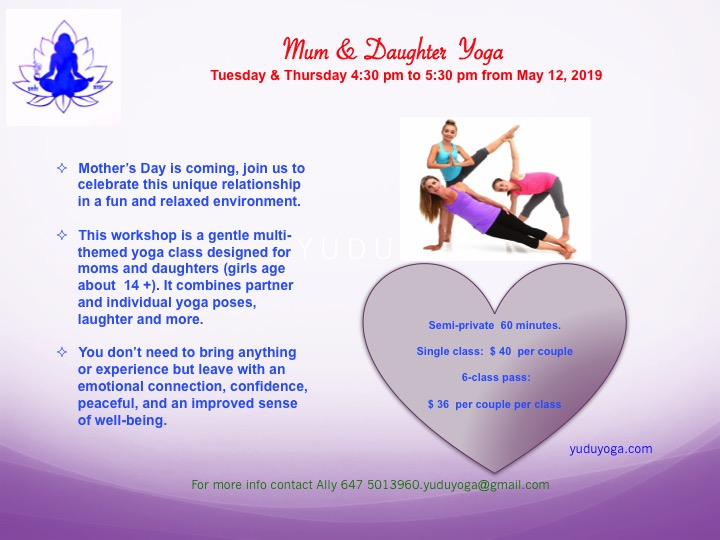 Mum & D Yoga 2019